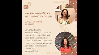 Conversación con la Dra. Ana Nogales: 13 de abril, 2020