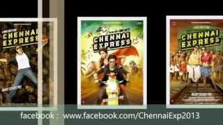 #ChennaiExpress - Title Song [ #SRK #Deepika & #RohitShetty ]