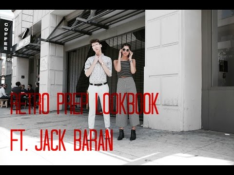 Retro Preppy Lookbook Ft. Jack Baran