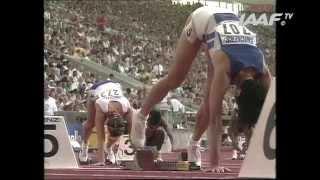 World Records - 400m Hurdles Women Final Stuttgart 1993