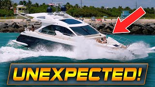THEY NEEDED TO BE RESCUED !! | BOATS & ROUGH WAVES AT HAULOVER INLET | WAVY BOATS