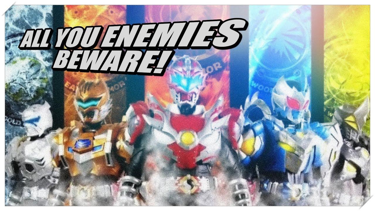 Power rangers armored fan trailer armor hero youtube voltagebd Images