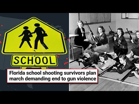 Florida School Shooting Victims Plan Anti-Gun March... What's The True Solution?