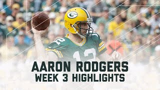 Aaron Rodgers Highlights | Lions vs. Packers | NFL Week 3 Player Highlights