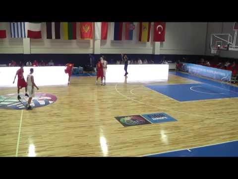 U-18 EUROPEAN CHAMPIONSHIP 2014. RUSSIA vs SPAIN. boys 1996