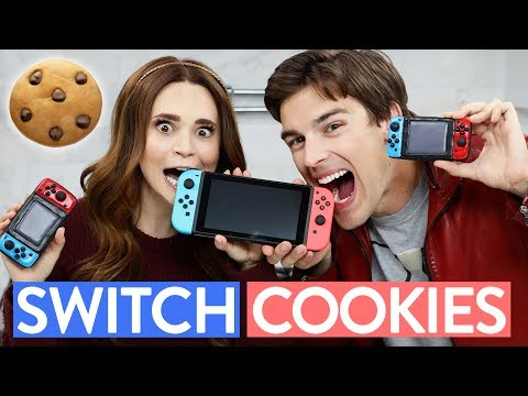 NINTENDO SWITCH COOKIES ft MatPat! - NERDY NUMMIES