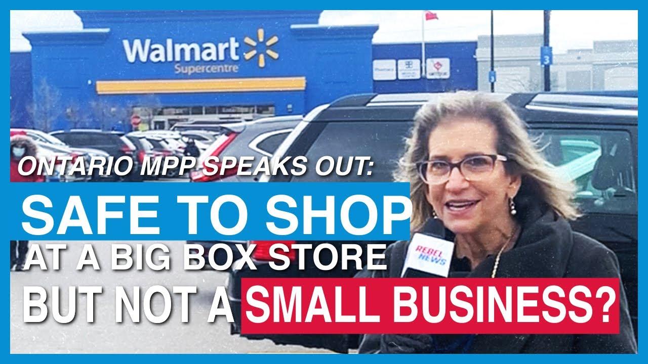 Ontario MPP: Small biz has to make it through the lockdown, too!