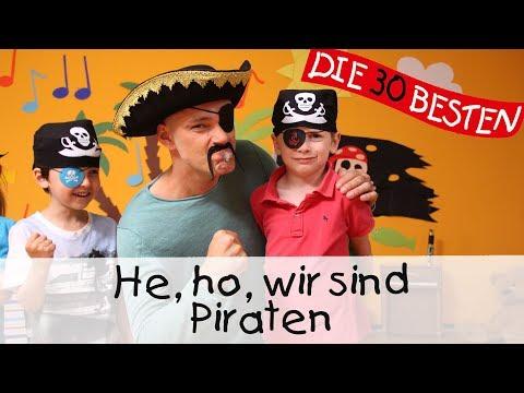 He, Ho, Wir Sind Piraten || Kinderlieder Zum Mitsingen Und Bewegen