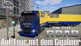 On the Road ★ Auf Tour mit dem Gigaliner ★ Truck Simulator [Deutsch/HD]