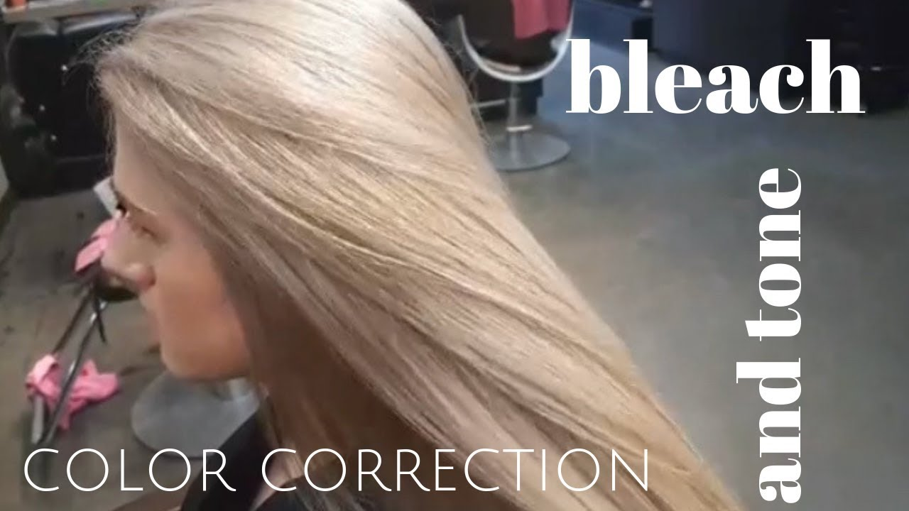 Bleach And Tone Color Correction Youtube