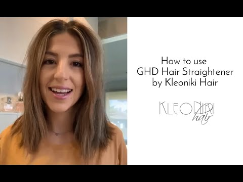 How to use GHD Platinum Plus and review by Nikki