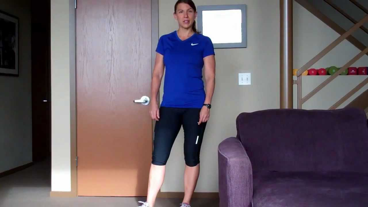 Standing Hip Abduction And Adduction Youtube