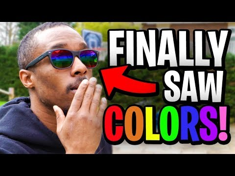 THESE GLASSES CURED HIS COLORBLINDNESS!