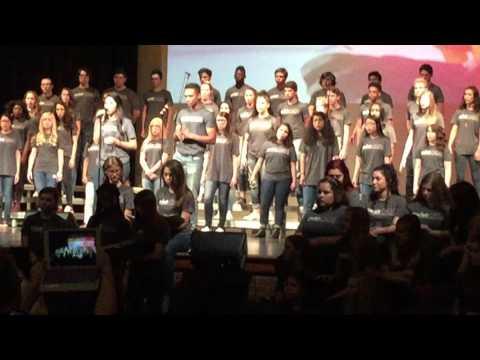 High School Choir Department Sings Circle...