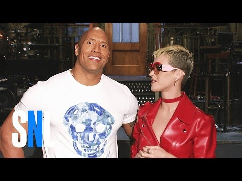 SNL Host Dwayne Johnson & Katy Perry Are Two of a Kind