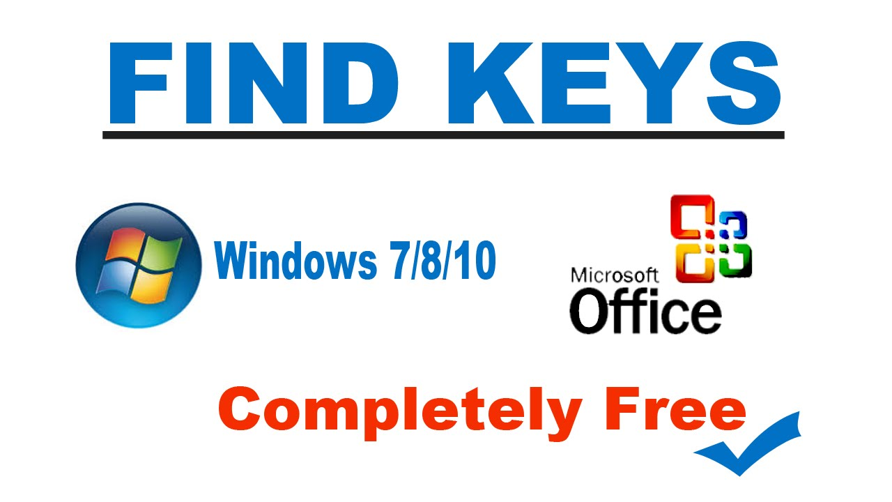 find lost windows 7 product key