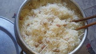 Bí quyết nấu xôi đậu phộng thơm dẻo hạt xôi bóng.