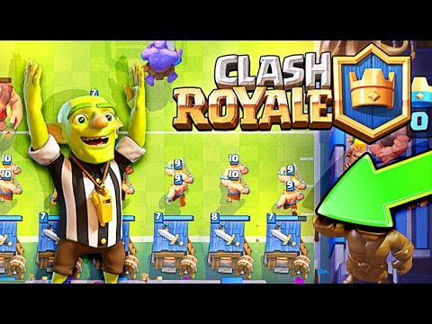 Thumbnail: This happened... Clash Royale Touchdown Mode!
