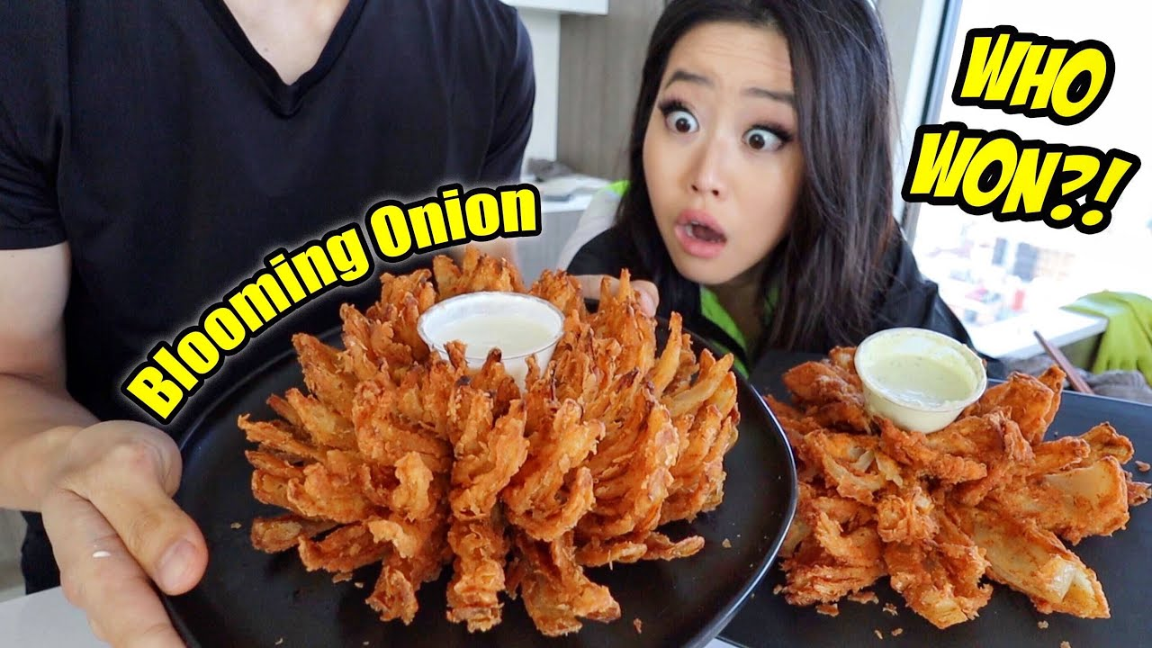 COUPLES COOKING CHALLENGE: BLOOMING ONION RECIPE