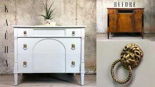 Furniture Makeover for Beginners / One Color Smooth Finish w Jolie Paint