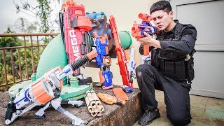 LTT Gaming nerf guns SEAL X Special Mission With Nerf Guns Battle Criminal Group