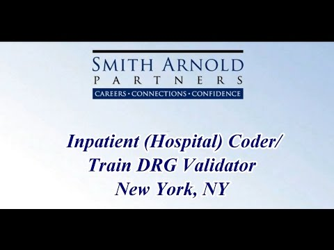 Inpatient (Hospital) Coder/Train DRG Validator (CLOSED) | Smith Arnold Partners