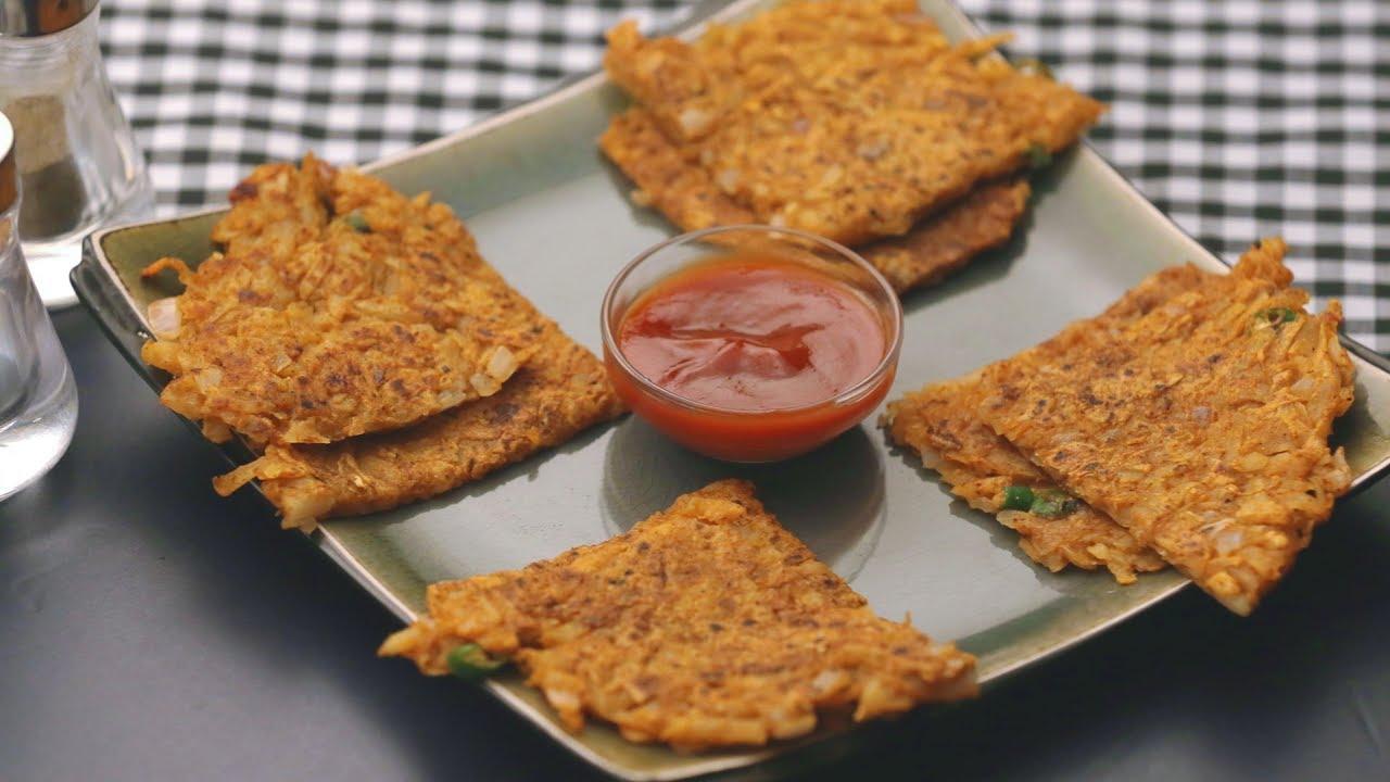 Aloo cheela recipe aloo ka cheela or aloo chilla potato pancakes recipe
