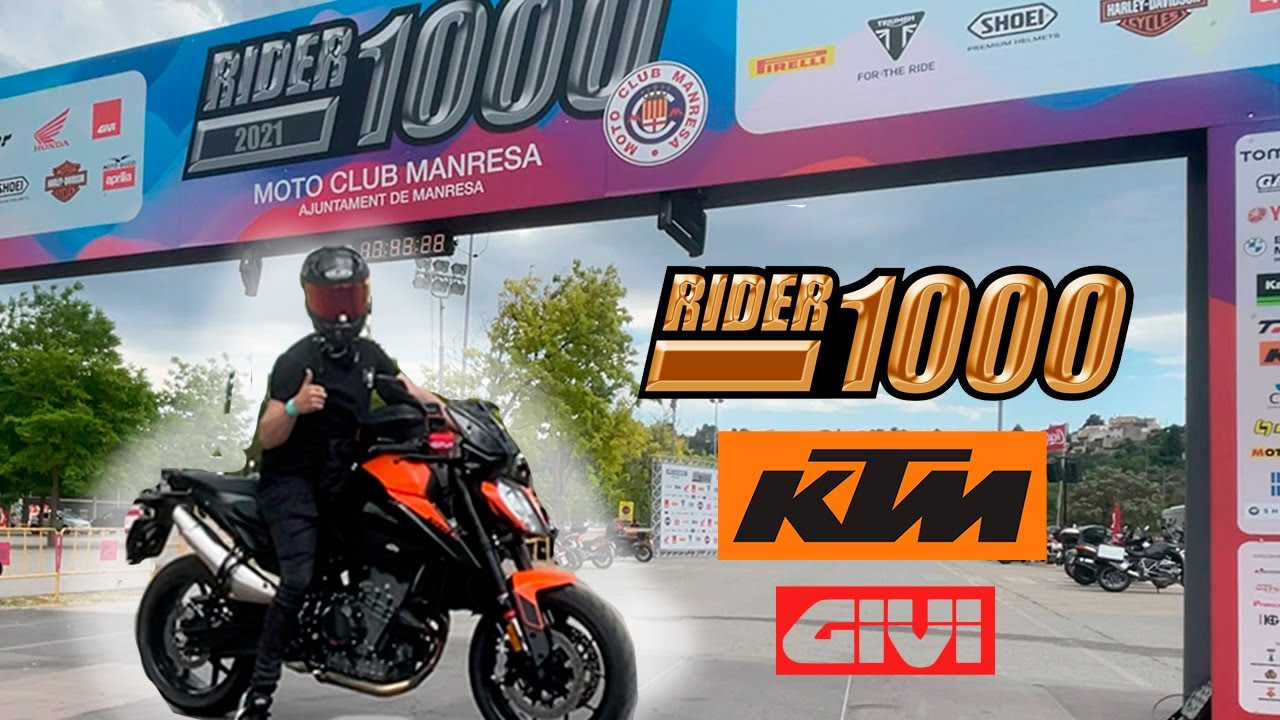 DE RUTA CON LA KTM 890 2021 EN LA RIDER 1000