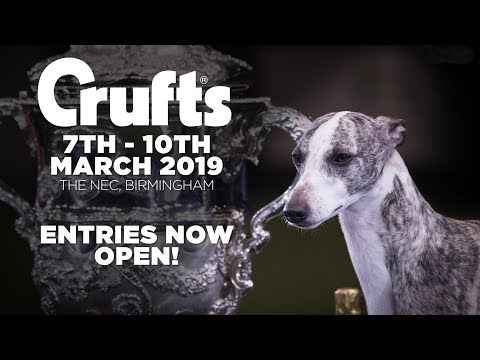 Entries are open for Crufts 2019!