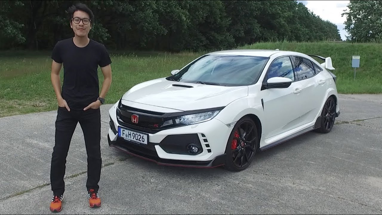 FIRST DRIVE: 2017 Honda Civic Type R FK8 review - YouTube
