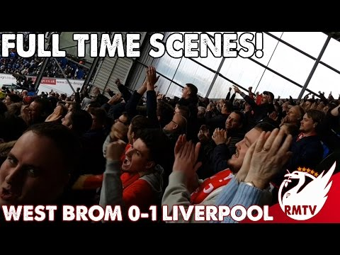 Full Time SCENES! | West Brom v Liverpool 0-1