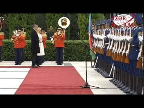 Official welcoming ceremony was held for Croatian President Kolinda Grabar-Kitarovic