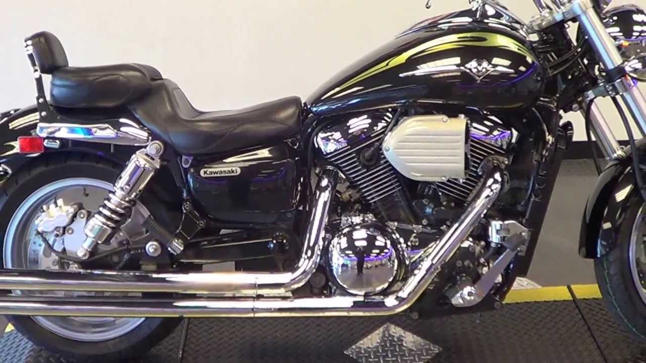 2004 Kawasaki Vulcan 1600 Mean Streak Low Miles Upgrades Pristine