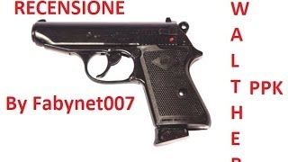 Recensione pistola a salve walther ppk cal 8 mm