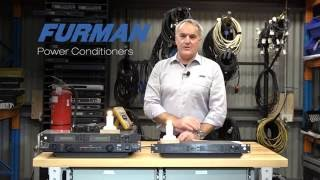 Furman Power Conditioners - Extreme Voltage Shutdown (EVS) overview