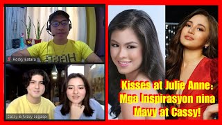 KISSES DELAVIN at JULIE ANNE SAN JOSE, Inspirasyon ng Celebrity Twins na sina MAVY at CASSY LEGASPI!