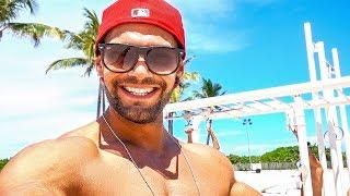 workout a south beach miami • michael spampinato