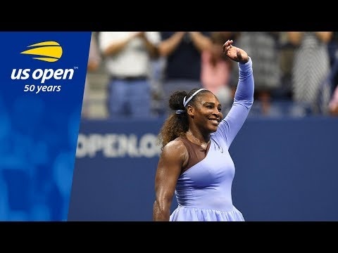 Serena Williams Wins In Arthur Ashe Stadium Over Witthöft - US Open 2018