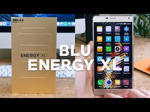 BLU Energy XL Unboxing And First Look