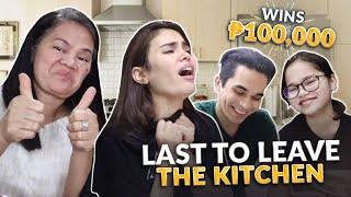 LAST TO LEAVE THE KITCHEN WINS 100K! | IVANA ALAWI