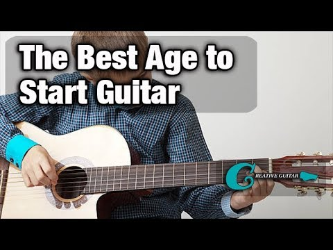 What is the right age to start to study guitar?