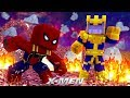 X-MEN #9 - SAVING SPIDERMAN FROM THANOS! (Custom Mod Adventure)