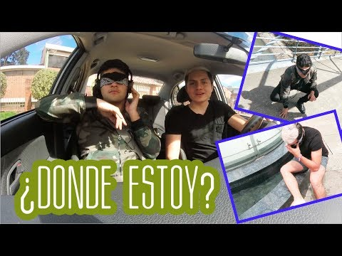 ¿Donde Estoy? CHALLENGE Ft. Santimaye | Alejo Suárez