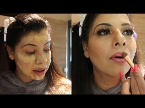 Make up Tutorial For Xmas & New Year Evening   In Hindi