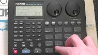 Boss DR660 Drum Machine Tutorial pt.1