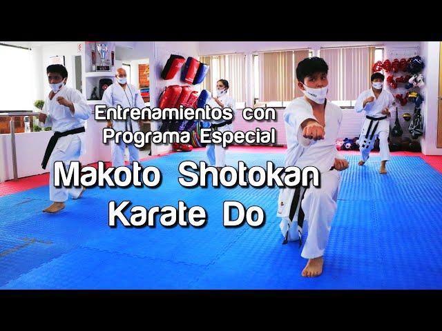 Entrenamientos con programa especial en Makoto Shotokan Karate-Do
