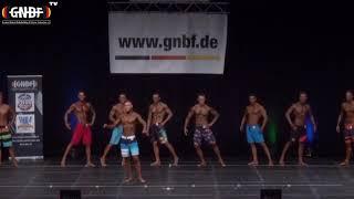 Men`s Physique 2 16. GNBF Deutsche Meisterschaft 2019