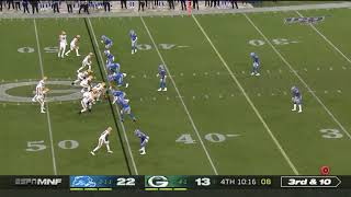 "Lions Controversial ""Hands to the Face"" Call 