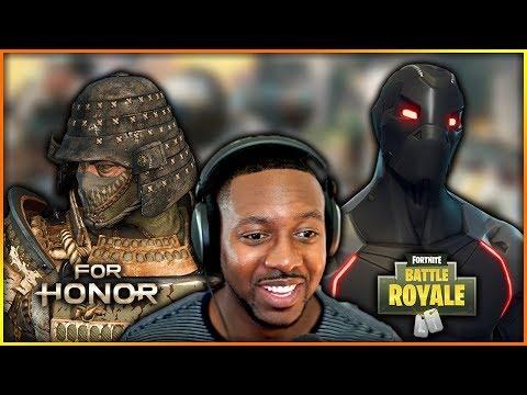 For Honor Orochi Rework Gameplay & Fortnite Amazing Solo Win Record!!