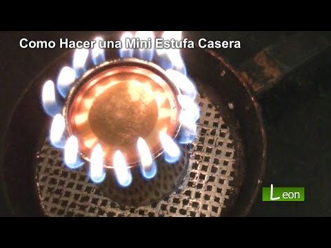 Como Hacer una Mini Estufa Casera